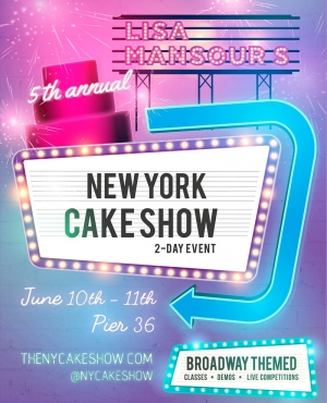 The NY Cake Show con Lisa Mansour