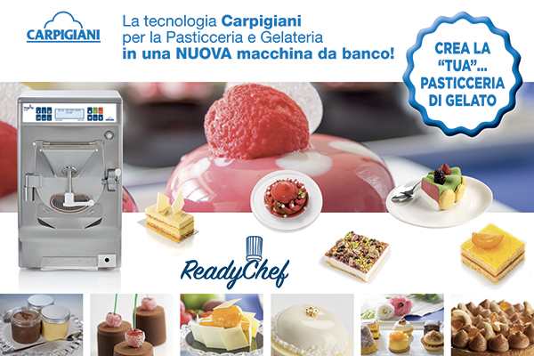 Carpigiani Pop up banner PI ReadyChef 600x400mm