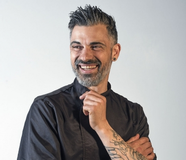 Alessio Pizzi, conduttore del nuovo reality show One Million Restaurant.